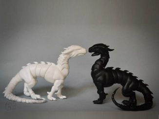 Poseable Dragon