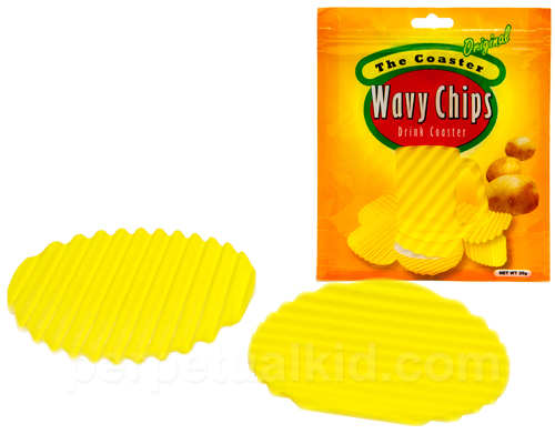 Potato Chip Drink Coasters