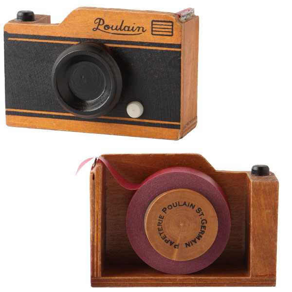 Poulain Camera Tape Dispenser