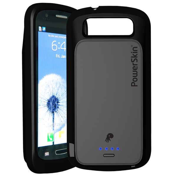PowerSkin NFC-Enabled Smartphone Battery Cases