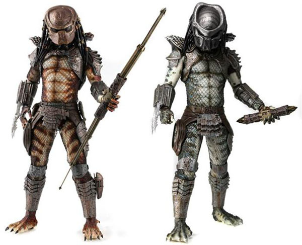 Predator 2 Quarter Scale Action Figure Set