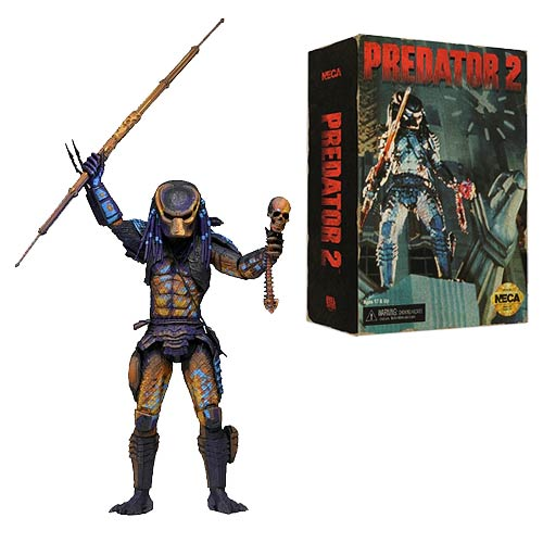 Predator 2 Video Game City Hunter Predator 7-Inch Scale Action Figure