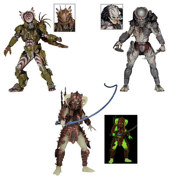 Predator 7-Inch Scale Series 16 Action Figures