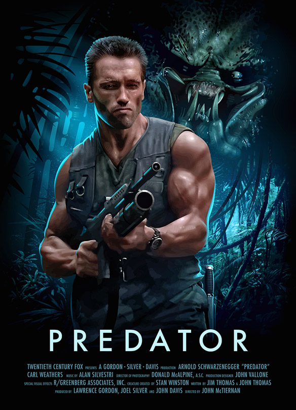 Predator Poster - medium
