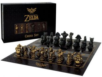 Premium Collectible Legend of Zelda Chess Set