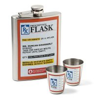 Prescription Flask Set
