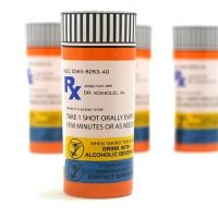 Prescription Rx Shot Glasses (Set of 4)
