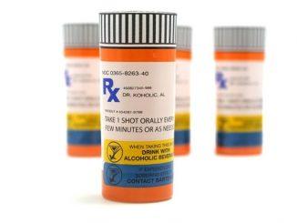 Prescription Rx Shot Glasses (Set of 4)