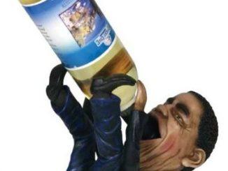 President Barack Obama Wine Holder