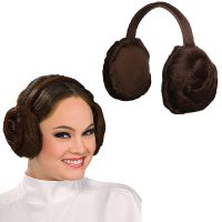 Princess Leia Headband Earmuffs