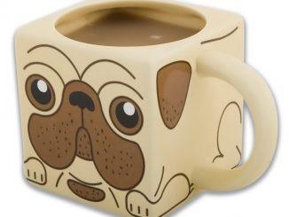 Square Pug Coffee Mug