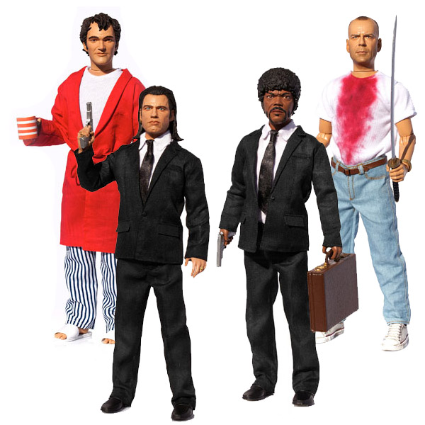Pulp Fiction Talking Action Figures