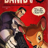 Punisher Bambi 2 Art Print