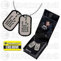 Punisher Frank Castle Dog Tags Necklace Replica