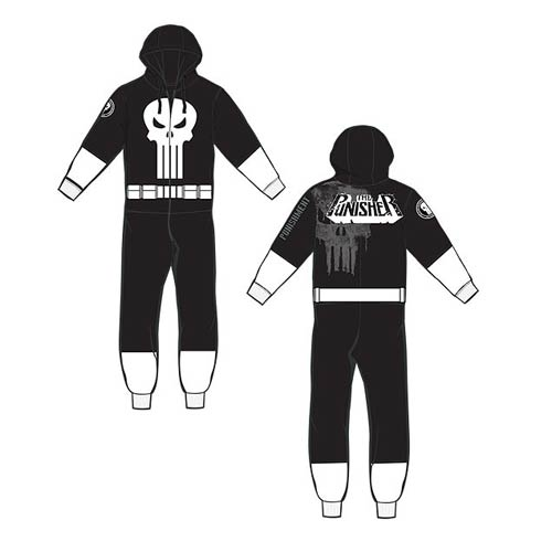 Punisher Hooded Onesie