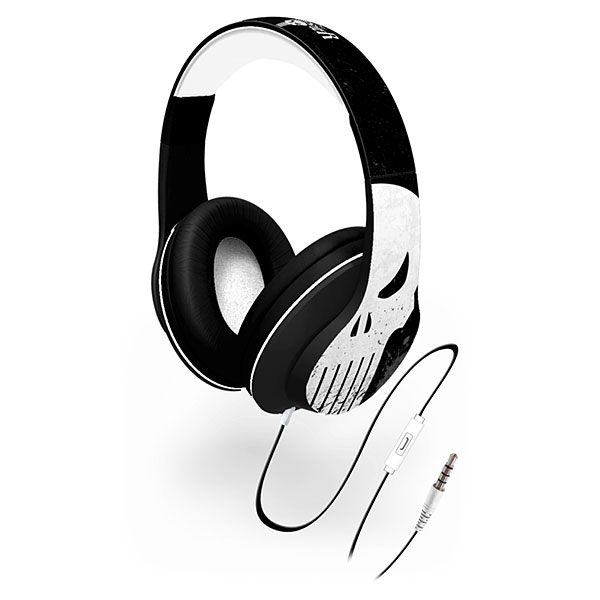 Punisher Over-the-Ear Headphones with Volume Control