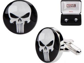 Punisher Skull Logo Cufflinks