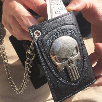 Punisher Skull Wallet