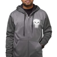 Punisher Space Dye Zip-Up Hoodie