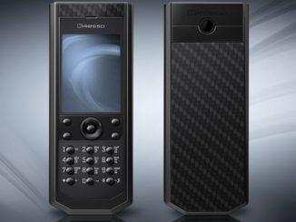 Pure Black Carbon LE Phone