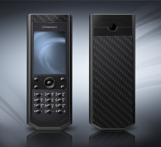 Pure Black Carbon LE Phone