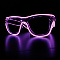 Purple Glowing Sunglasses