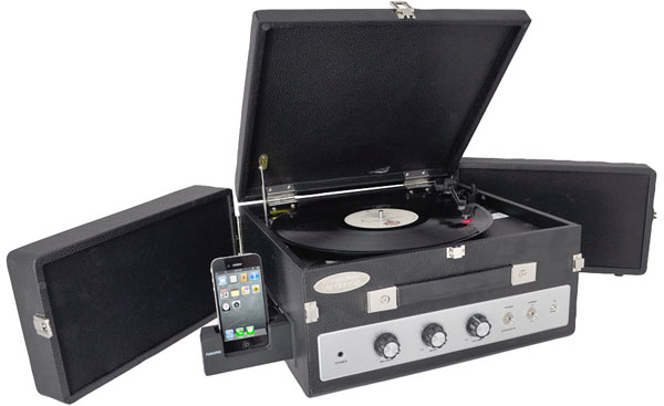 Pyle Audio Vintage Turntables