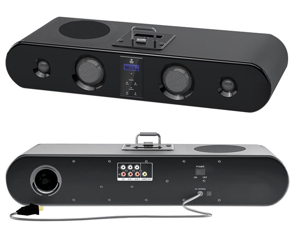Pyle Home 300 Watt Sound Bar Docking System