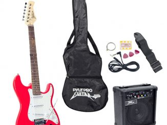 Pyle-Pro PEGKT15R Beginner Electric Guitar Package