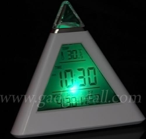 Pyramid LED Clock