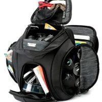 Python blur camera bag