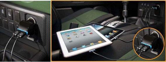 Qmadix iPad USB Twin Tablet Charging Kit