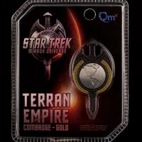 Qmx Star Trek TNG Mirror Universe Magnetic Badge