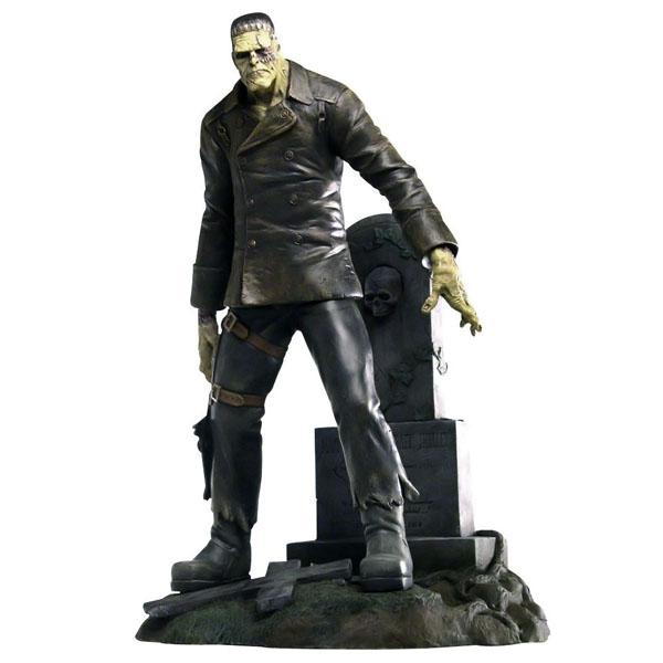 Quarantine Studio Ghastly Graves Shelley's Monster Statue