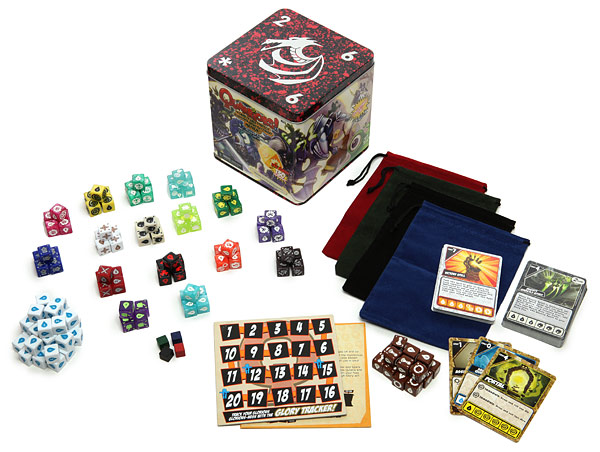 Quarriors Mega Dice Battle Game Kit