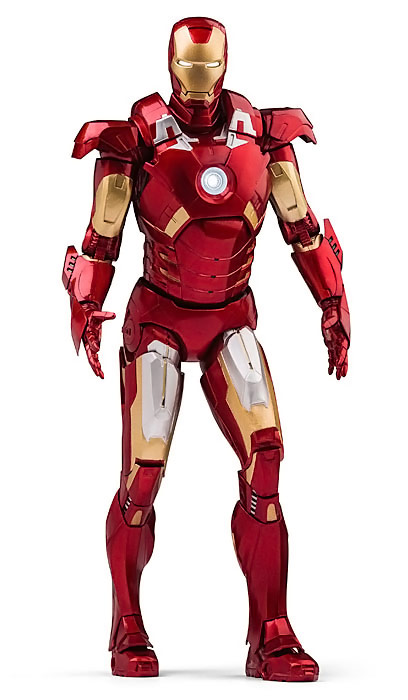 Quarter Scale Limited Edition Iron Man Figure