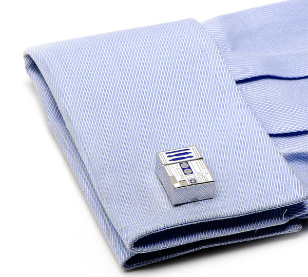 R2-D2 4GB USB Flash Drive Cufflinks