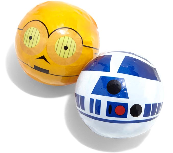 R2-D2 and C-3PO Bath Bombs