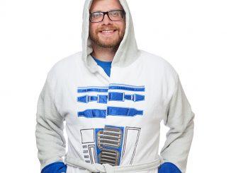 R2-D2 Fleece Robe