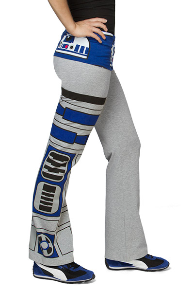 R2-D2 Ladies Yoga Pants