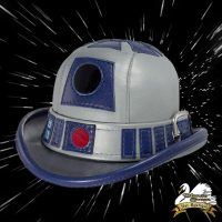R2-D2 Leather Derby Hat