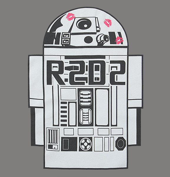 R2-D2 Love Ladies Tee