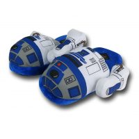R2-D2 Plush Slippers