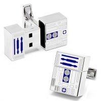 R2-D2 USB Flash Drive Cufflinks