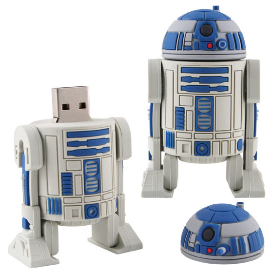 r2 d2 usb flash drive. Black Bedroom Furniture Sets. Home Design Ideas