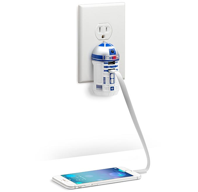 R2 D2 USB Wall Charger