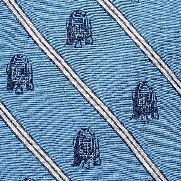 R2-D2 White Stripe Tie