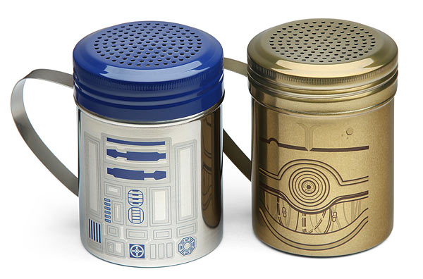 R2-D2 and C-3PO Spice Shaker Set