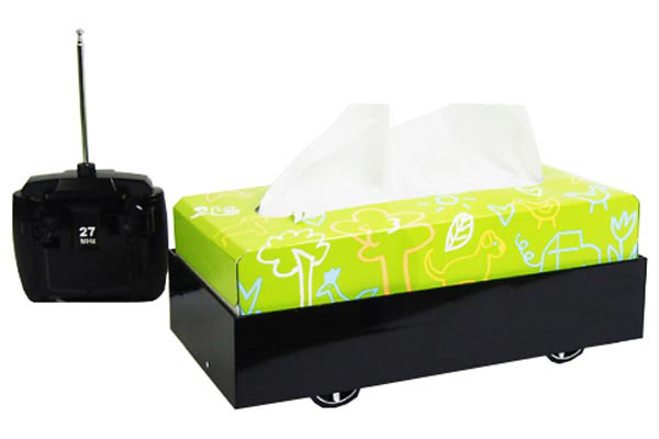 RC Driving Tissue Box