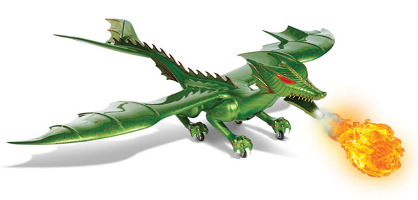 RC Flying Fire Breathing Dragon